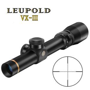 Leupold 1.5-5x20 MIL-DOT FAHRIKEL SEINE RIPLE SCOPE Taktische Zielfernrohre Jagdbereich Sniper-Gang für Rilfe-Luftpistole