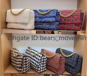 Pochette BAGS CLASSIC LUSSO DESIGNER NABI DONNA Borse a tracolla di moda Lettera Catene geometriche due toni Crochet Lady