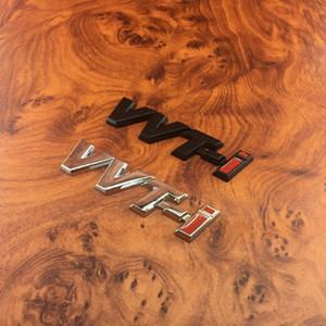 2 PCS 3D Métal VVT-I VVTI Emblem Strobe Autocollant de voiture Autocollant de voiture pour Toyota Camry Corolla Reiz