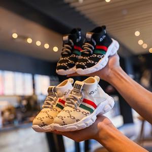 Nuevos zapatos para niños de otoño Unisex Niñas Niñas Boys Sneakers Malla transpirable Moda Casual Niños Zapatos Tamaño 21-30