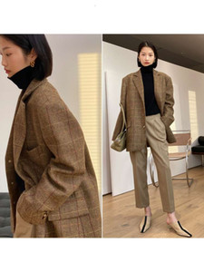 Mrs studios UK moon Tweed Wool forever fashionable classic daddy suit coat