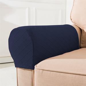 2 шт. Установленные подлокотники охватывает охватывает гостиную диван мебель утолщение фиксируемой рукава пылезащитный стул шерсть чехол образец шаблон новых 13 8bn G2