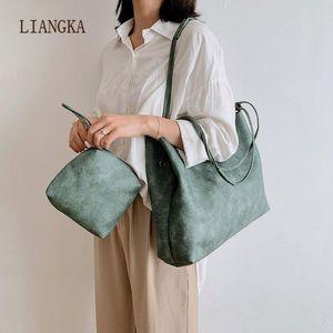2020 New Fashion Women's Large Capacity Shoulder Bags Retro Shopper Handbag Winter Nature Travel Bags Unusual
