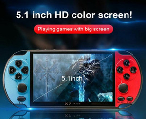 X7 Plus 5.1 Game Console Portable Camera MP5 Double Rocker 8G Video Music LCD Rechargeable Handheld vs m3 821 660 x12