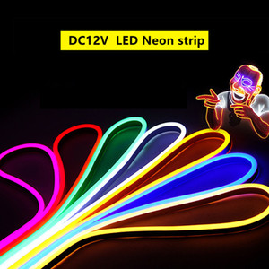 12V LED Neon String Light SMD2835 120LED M waterproof IP67 Outdoor Decorative Flexible Neon lights for wedding part and house decoration