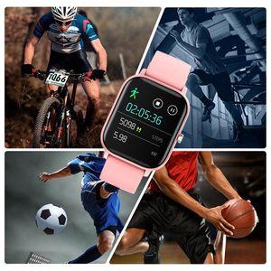1.4 Inch Smart Watch Men Full Touch Fitness Tracker Blood Pressure Smart Clock Ladies 2020 Fashion New