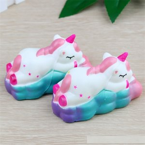 Jumbo Unicorn Squishy Squeeze Toy Reduce Pressure Novelty Cartoon Cloud Flying Horse Squishies Slow Rebound Decompression Toys 16 8dy C