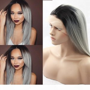 Heat Resistant Synthetic Lace Front Wig Swiss Lace Hair Wigs synthetic hair synthetic wigs for black women with wholesale price