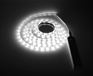 New Design 5M USB Tira led Stripe Light Waterproof Flexible Lamp Tape Motion Sensor Kitchen Closet Cabinet Stair Night Light Led Lamp Strip