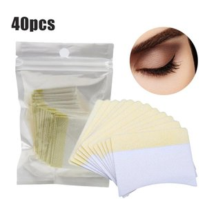 40-100pcs 12g Eyelash Extension Remover Cotton Pads Eye Pillow Pads Under Eye Protection Patches for Removing Grafting Eyelash