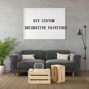 Customized horse art paintings, wall stickers, art printing pads, digital printing, design sketches, customized full-page paper