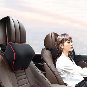 Car Neck Headrest Pillow Cushion Auto Seat Head Support Neck Protector Automobiles Seat Rest Memory Cotton Car Accessories