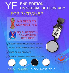 Novità Vendita di fabbrica Nuovo YF EDITION EDITION UNITIONAL Home Pulsante di ritorno Tasto Flex Cable No Touch ID per iPhone 7/7 Plus / 8G / 8 Plus