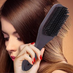 Salon Large Bath Comb Massage Barbers Hair Brush Hairdressing Cleaning Multi-function Household Wood Handle Retro Styling Tools