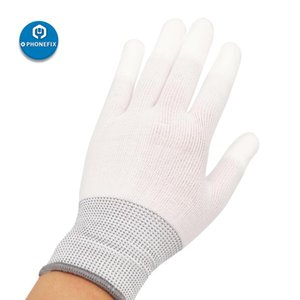 5 Pairs Vinyl Anti-static Anti-skid Window Tint Car Wrap Gloves Nylon Carbon Fiber Work Gloves Car Film Sticker Install Tool