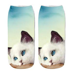 New Hot Print Socks Cartoon Stereoscopic Socks Animal Cat Fashion 3D Printed Boat Socks In Stock