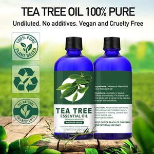 LAGUNAMOON 150Ml Tea Tree Essential Oil Water-soluble Diffuser 100% Pure Natural With Therapeutic Grade Moisturizing Antiwrinkle