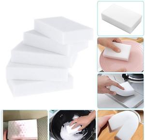 White Melamine Sponge Magic Sponge Eraser Melamine Cleaner For Kitchen Office Bathroom Cleaning Nano Sponges Free wmtizO dh_garden