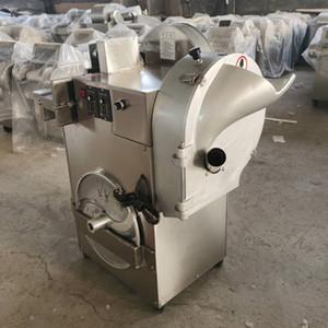Doppelkopf Gemüseschneider Maschine Edelstahl Dicing Machine Ingwer Dicing Machine Lebensmittel Shredder zum Verkauf