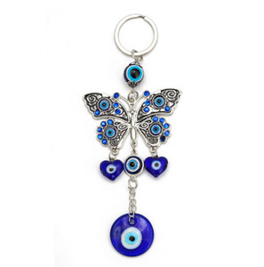 Novità Butterfly Keychain Freeze Crystal Keychain Jeans personalizzato Venditori Portachiavi anelli sotto 50 sfusi per ragazze