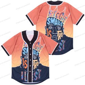 Ucuz Toptan Biggie Smalls Beyzbol Formaları Iliest NOTORIOR B.I.G. Yıldönümü Jersey Boyutu S-3XL Ücretsiz Kargo Yüksek Kalite