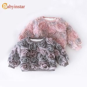 Babyinstar Buena Calidad Niños Suéter Outwear Outwear's Lovely Outfit Cotton's Linda Solid Winter Knitwear 201103