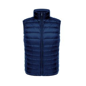 90% white duck down lightweight down vest men's short inner wear and outer wear vest 2019 autumn and winter new thin vest