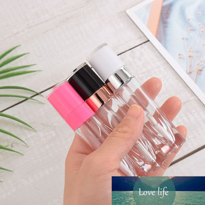 5.5 6.4ML Empty ABS Lip Gloss Tube Plastic Lip Balm Bottle with Clear Body Mini Samples Vials Cosmetics Container Refillable