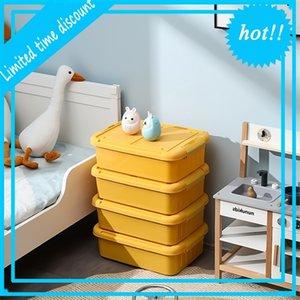 Umweltfreundliche Home Verwendung Boxen Bins Großhandel Kunststoff-Speichercontainer mit Deckel, 5-130l Sortierkasten