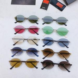 Fashion sport sunglasses for men 2020 unisex glasses men women sun glasses silver gold metal frame UV400 Eyewear lunettes with box R19t#