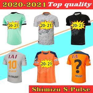 2020 2021 Shimizu S-Pulse Soccer Socceryseys 20 21 Taheuchi Ishige Japan J League Shimizu S Pulse Home Продают третий тренировочный костюм футбольная рубашка