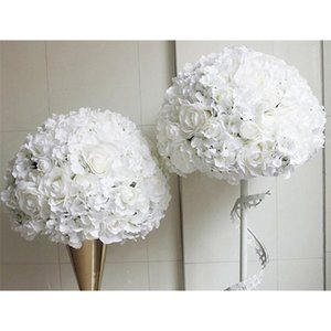 SPR white series artificial wedding wall backdrop decoration arch table centerpiece flower ball for party market Z1120