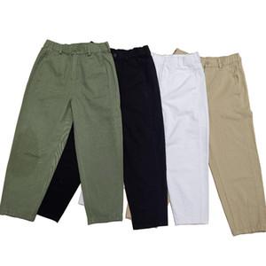 Women's elastic-waist 9-cent Harlem turnip pants