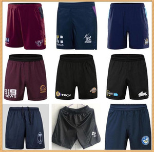 Rugby Shorts Manly Brisbane Broncos Melbourne Tormentas Titans Warriors Western Tigers Sydney Roosters Sur Sydney Rabbitohs Fiji Irlanda