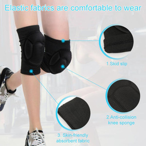 Sports Knee Pads Anti-fall And Anti-collision Thickened Foam Knee Sleeves Sturdy Durable Basketball Volleyball Safety Equipment