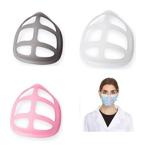 3D Mask Bracket Lipstick Protection PP Stand Mask Inner Support For Enhancing Breathing Smoothly Masks Tool Accessory GWA2538