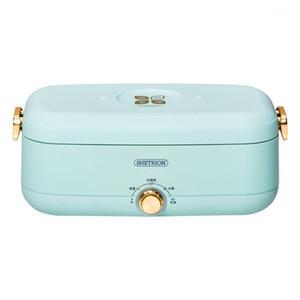 500W Elektrische Lunchbox Intelligenter Reiskocher Heißer Topf Kochtopf Tragbare Multicooker Wärmeerhaltungswärmer 800ml1