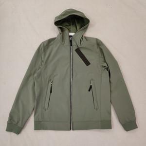 Buque de gota # 40927 Moda caliente Otoño Chaquetas de invierno Luz Suave Shell-R Jacket Designer Hombre Chaqueta Moda Suéter