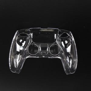 Nuovo controller PS5 Shell di cristallo di plastica PS5 Maniglia Custodia protettiva trasparente per PlayStation 5 Accessori per controller di gioco wireless