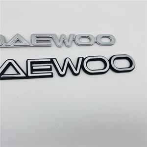 Für Daewoo Emblem Heckkoffering Heckklappe Logo Buchstaben Abzeichen Typenschild Symbol Aufkleber