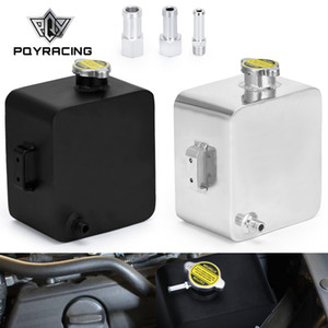 PQY - 2L litrelik cilalı alaşım başlık genişleme su tankı kap su başlık tankı soğutma sıvısı taşma tankı rezervuar kiti pqy-tk24