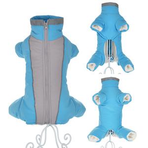 Зимняя одежда для маленьких собак теплый флисовый щенок PEAT POOT куртка водонепроницаемый светоотражающий собака комбинезон чихуахуа комбинезон одежды LJ201130