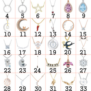 Fahmi S925 Sterling Silver Colored Gemstone Necklace Youth Charming Female Original Jewelry Gift