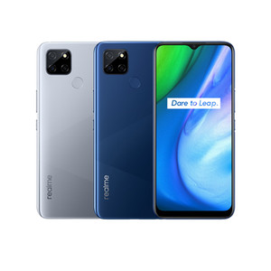 "Original Realme V3 5G Mobile Phone 6GB RAM 64GB 128GB ROM MTK 720 Octa Core Android 6.5"" Full Screen 13MP HDR Face ID Fingerprint Cell Phone"
