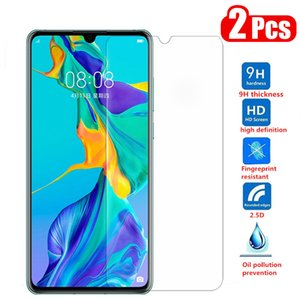 2Pcs Tempered Glass For Huawei P30 lite P20 Pro Y6 P Smart 2019 Mate 20 lite Screen Protector On honor 8X 10i 10 lite 9X Glass
