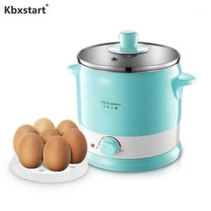 KBXStart Cocina Multicooker Acero Inoxidable Cocina de arroz Multifuncional Cocina eléctrica Dormitorio Mini Pot Cocinero Fideos 220V1
