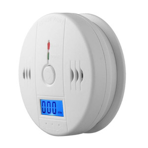 Fabbrica Direct Co Carbon Alarm Monexide Gas Sensor Monitor Avvelenamento Detector Tester per la sorveglianza della sicurezza domestica senza batteria
