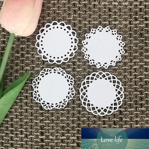 Embossing Round Lace Design Cutting Dies For Scrapbooking Album Folder Craft Die Cuts Cards Decoration