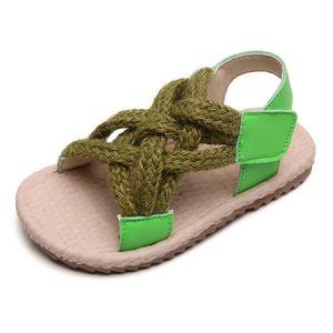 Summer Baby Boy flip flop Child Unisex Kids Sandal Toddler Shoes For Girl Soft Tendon Bottom New born Childrens slippers Sandals 21-30
