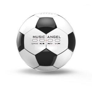 Bluetooth-Lautsprecher Musik Angel JH-ZQBT3 Mini Football Super Bass Stereo MP3-Player Hi-Fi Wireless Unterstützung TF / Micro SD-Karte Aux1